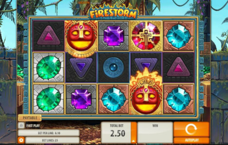 firestorm videoslot screenshot