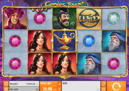 genies touch videoslot screenshot