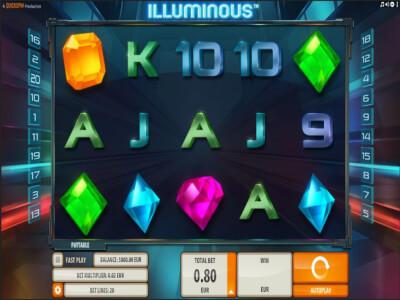 illuminous videoslot screenshot