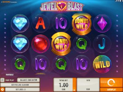 jewel blast videoslot screenshot