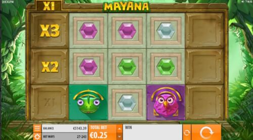 mayana videoslot screenshot