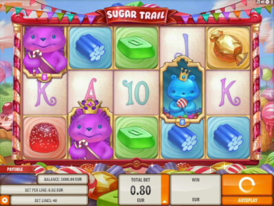 sugar trial videoslot screenshot